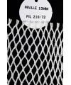 Filet de rechange sur cadre primaire maille 15 mm Fil 210/72