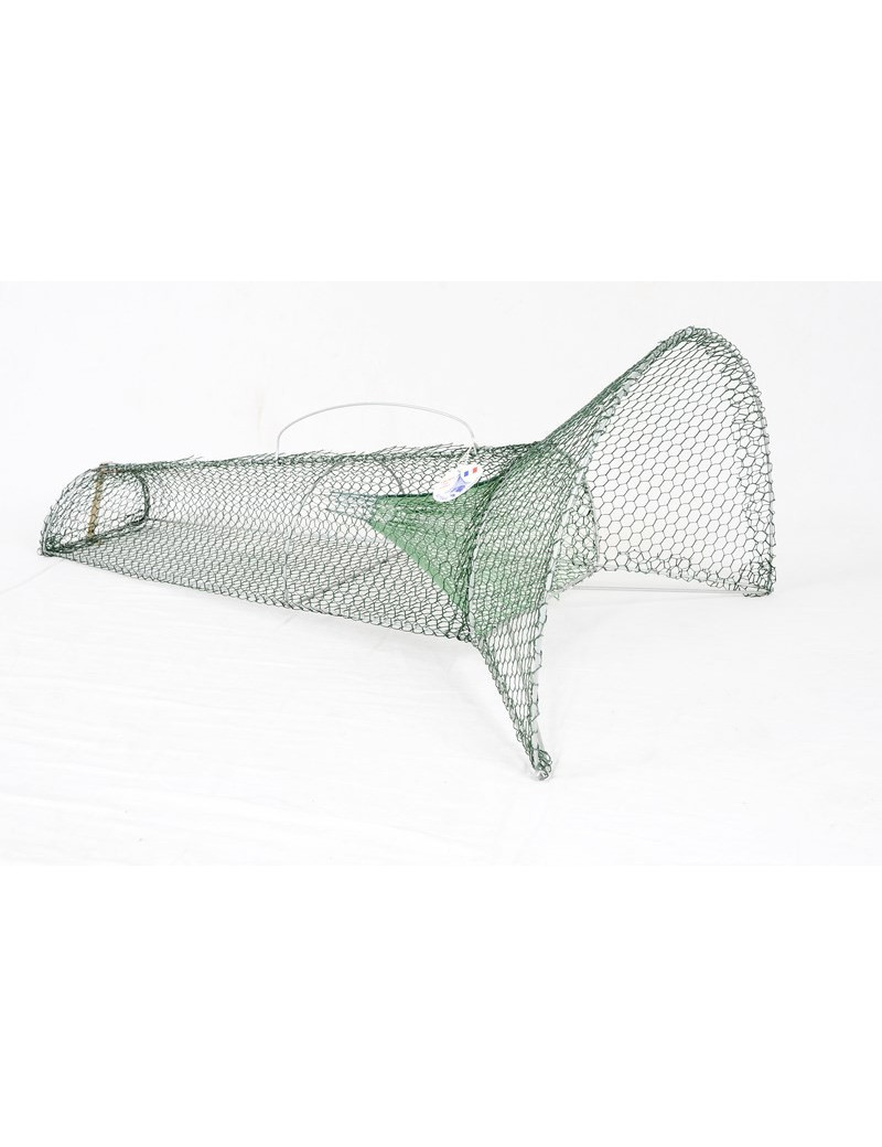 Nasse à goujons ou petits poissons 80 cm