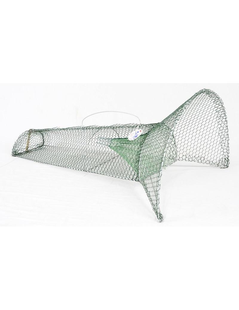 Nasse à goujons ou petits poissons 100 cm