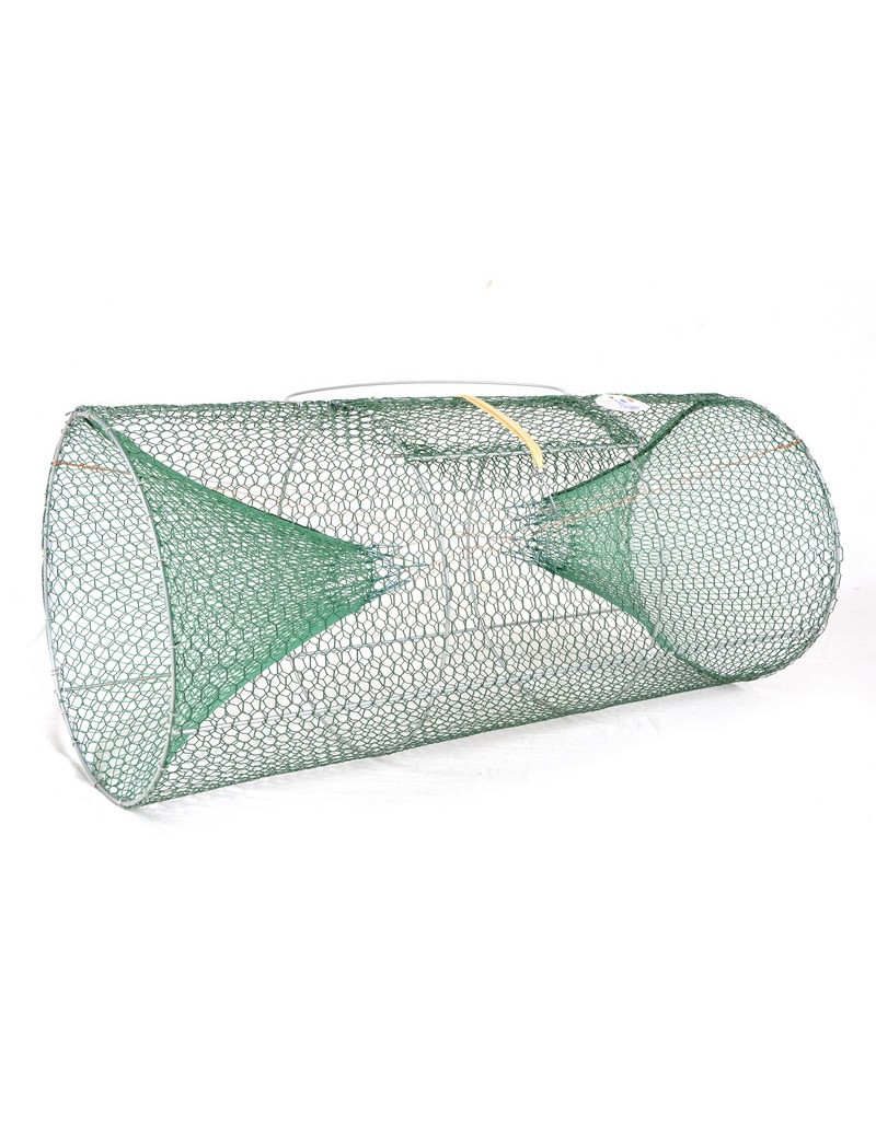 Tambour à poissons cylindrique Maille 12/13 mm