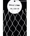 Filet épuisette Maille 27 mm